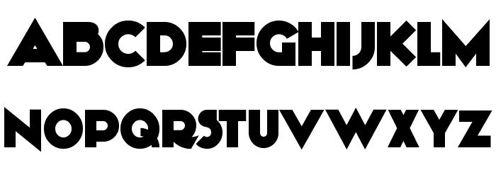 KiloGram Font UPPERCASE