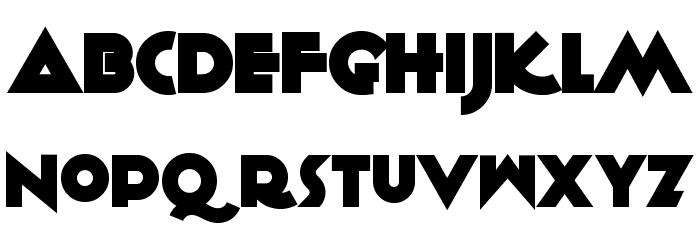 KiloGram Font LOWERCASE