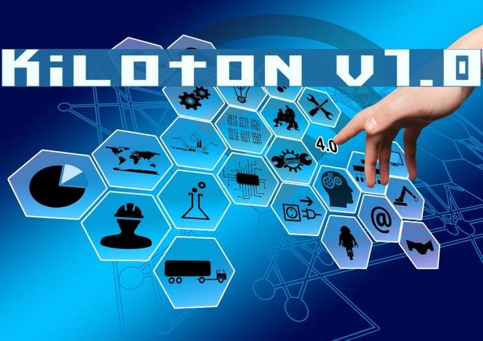 Kiloton v1.0 Шрифта examples