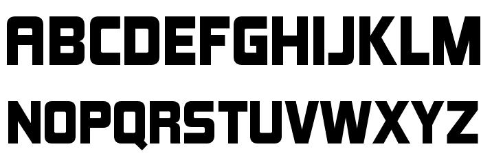 KimberleyBl-Regular Font UPPERCASE