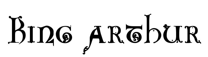 King Arthur  Free Fonts Download
