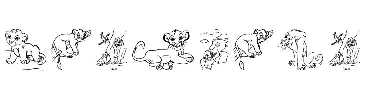 King Lion  baixar fontes gratis