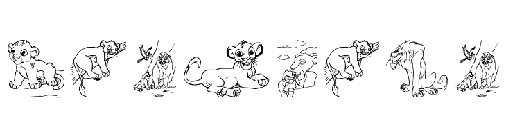 King Lion  नि: शुल्क फ़ॉन्ट्स डाउनलोड