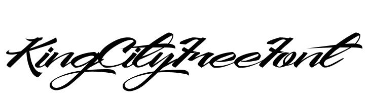 KingCityFreeFont  Free Fonts Download