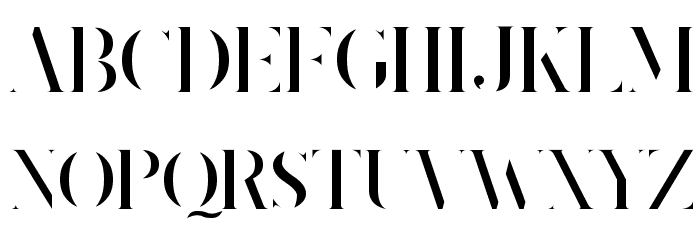 King's Gambit Font UPPERCASE