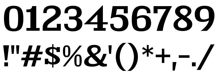 KingsbridgeExSb-Regular Font Alte caractere
