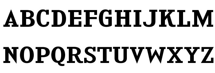 KingsbridgeExSb-Regular Font Litere mari