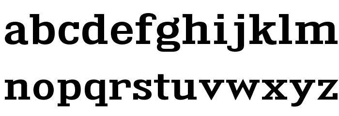 KingsbridgeExSb-Regular Font Litere mici
