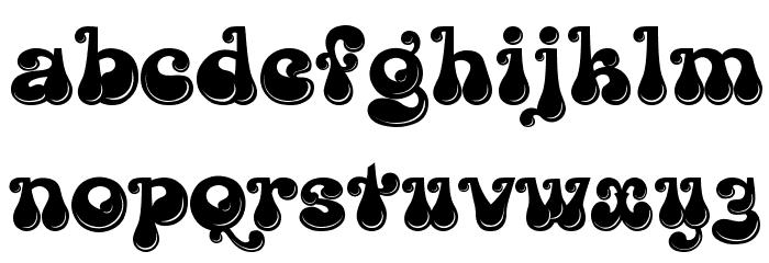 Kingthings Lickorishe Font LOWERCASE