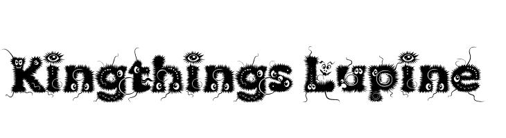 Kingthings Lupine  font caratteri gratis