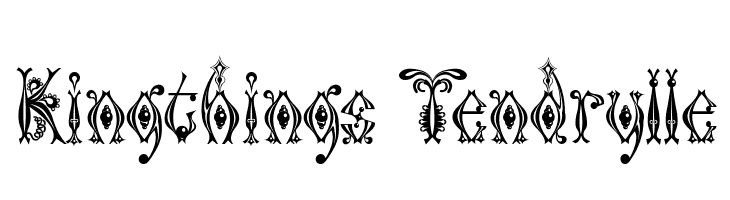 Kingthings Tendrylle  Descarca Fonturi Gratis