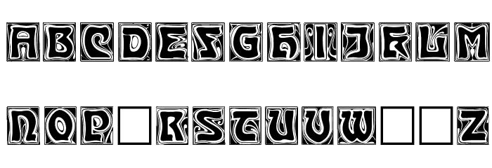 Kinigstein Caps Font LOWERCASE