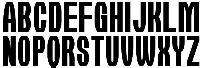 Kirie-Fu Font UPPERCASE