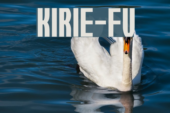Kirie-Fu Font examples