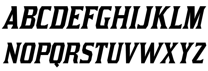 Kirsty-Italic Font UPPERCASE