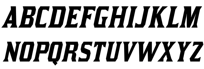 Kirsty-Italic Font LOWERCASE