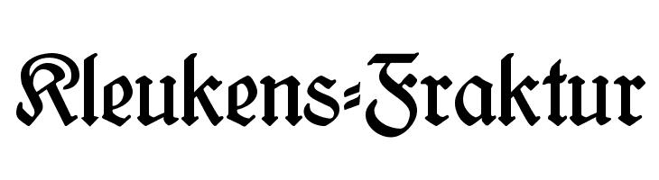 Kleukens-Fraktur  Descarca Fonturi Gratis