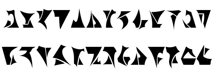 Klingon Font UPPERCASE