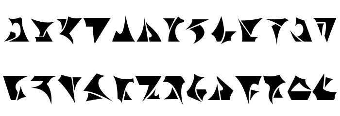 Klingon Font LOWERCASE