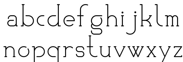 KlubKatz Font LOWERCASE