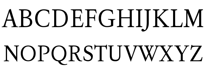 KoPubBatang Regular Font UPPERCASE