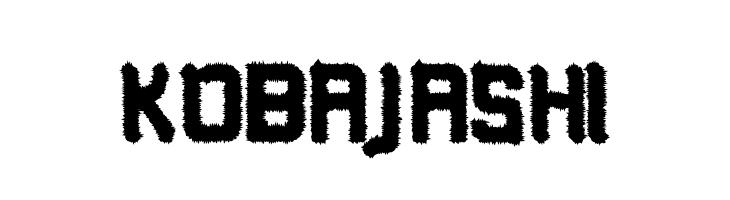 Kobajashi  font caratteri gratis