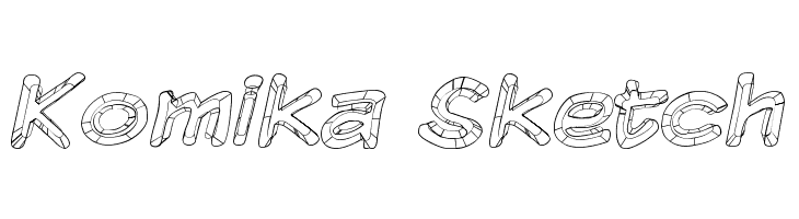 Komika Sketch  Free Fonts Download