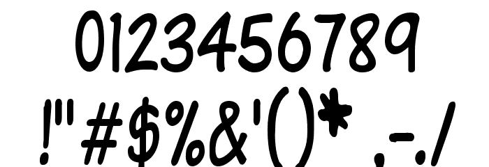 Komika Text Tight Font OTHER CHARS