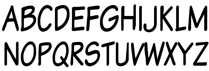Komika Text Tight Font UPPERCASE