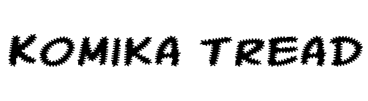 Komika Tread  Free Fonts Download