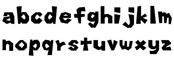 Koopa Party Regular Шрифта строчной