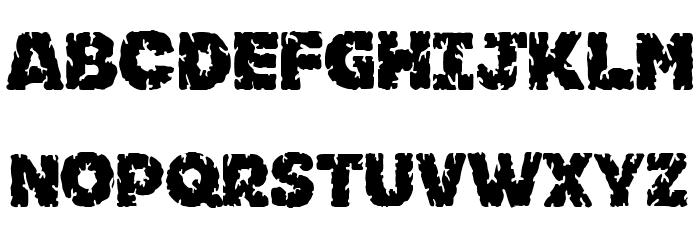 Kornik Font Litere mari