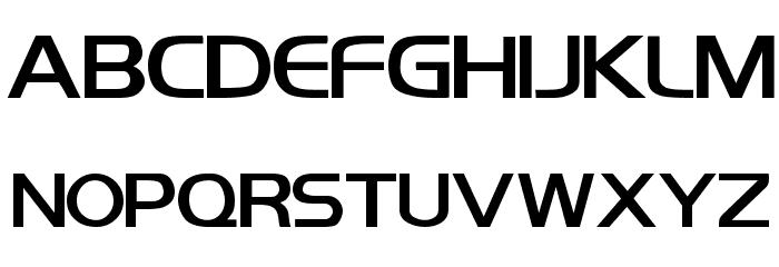 Koshgarian Bold Font UPPERCASE