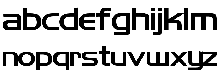 Koshgarian Bold Font LOWERCASE
