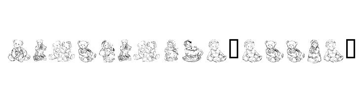 KR Adorable Teddies  Free Fonts Download