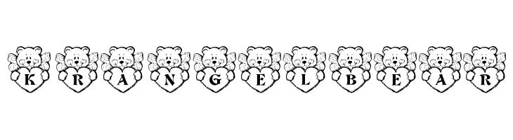 KR Angel Bear  Free Fonts Download