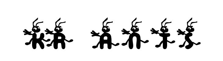 KR Ants  baixar fontes gratis