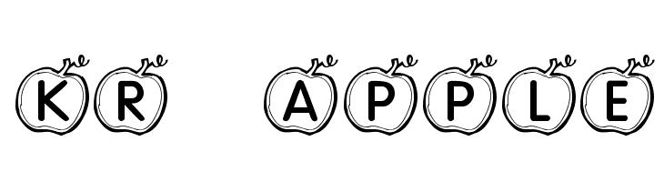 KR Apple  Free Fonts Download