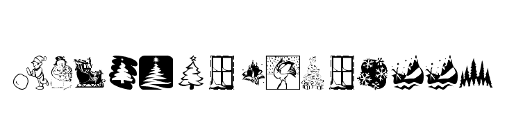 KR Christmas 2001  Free Fonts Download