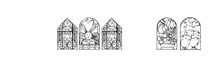 KR Easter Windows  Fuentes Gratis Descargar