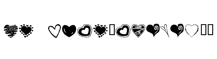 KR Heartalicious  नि: शुल्क फ़ॉन्ट्स डाउनलोड