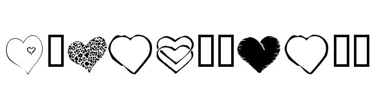 KR Heartfelt  नि: शुल्क फ़ॉन्ट्स डाउनलोड