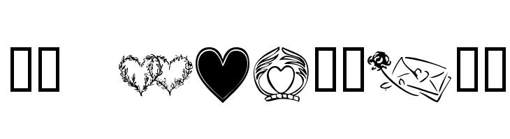 KR Heartily  नि: शुल्क फ़ॉन्ट्स डाउनलोड