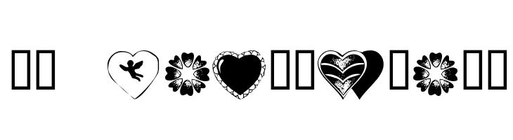 KR Heartiness  नि: शुल्क फ़ॉन्ट्स डाउनलोड