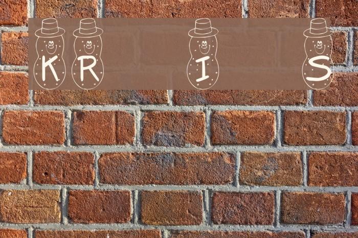 KR Irish Spudman Font examples