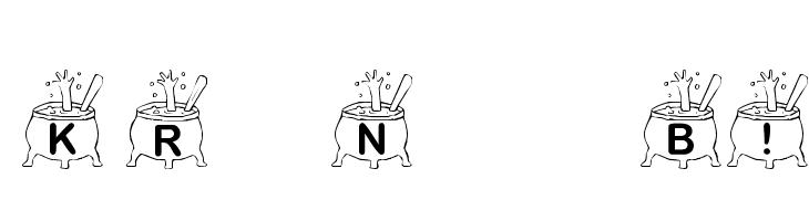 KR Nght's Brew!  font caratteri gratis