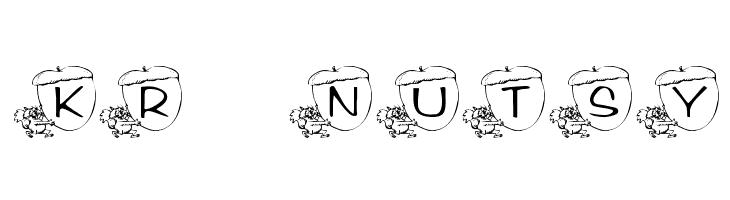 KR Nutsy! Font