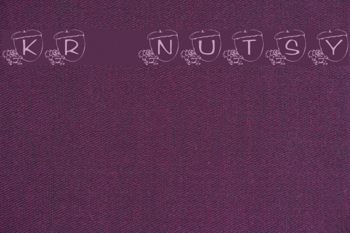 KR Nutsy! Font examples