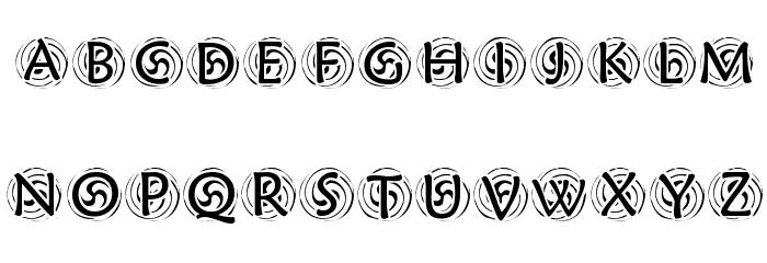 KR Spyro Font Litere mari