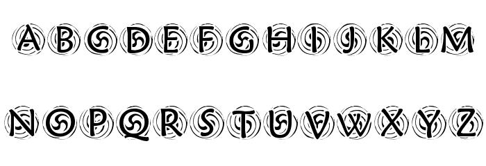 KR Spyro Font Litere mici
